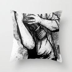 Drifting Shadows Throw Pillow