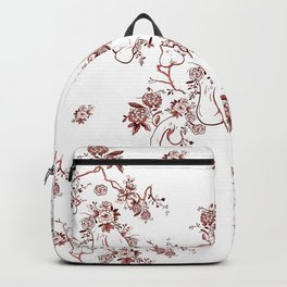 Penis Pattern RED Backpack