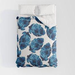 Ocean Leaves Comforters