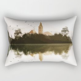 Lake Bled, Slovenia. Rectangular Pillow