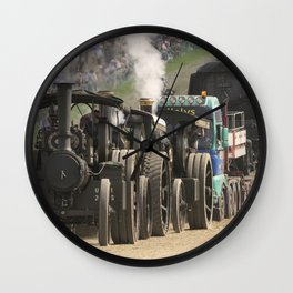 Traction Trio Wall Clock