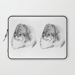 Pomeranian Laptop Sleeve