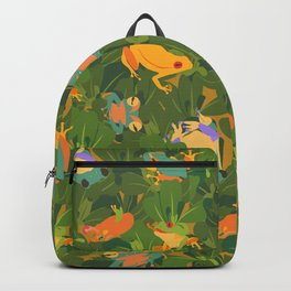 Froggy forest Backpack