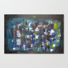 patchwork of chaos Canvas Print