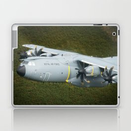 Airbus A400M At Mach Loop Bwlch Laptop & iPad Skin