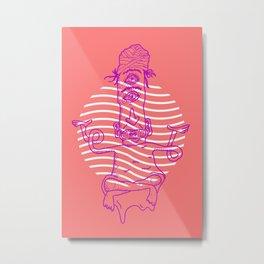 esoteric Metal Print