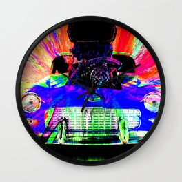 Rainbow Chaser Wall Clock