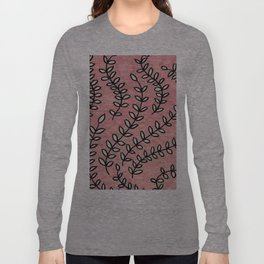 Pink Vines Long Sleeve T-shirt