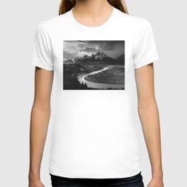Ansel Adams - The Tetons and Snake River T-shirt