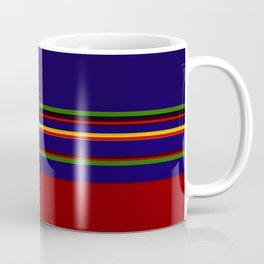 Bold Rainbow Stripe Design Coffee Mug
