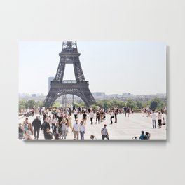 Jealous of the Tower Metal Print