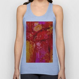 Red Cliff Boulders Unisex Tank Top