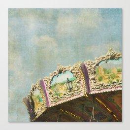 Joy Meets Sky Canvas Print