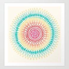 Radiate Art Print