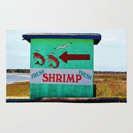 Fresh Shrimp This Way Rug