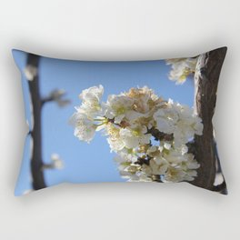 Fruit Blossoms Rectangular Pillow