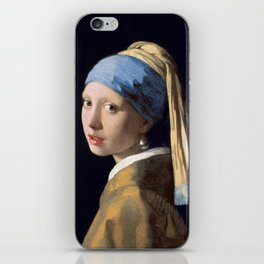 Johannes Vermeer - Girl with a Pearl Earring iPhone Skin