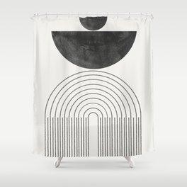 Geometric Minimal Shape Study No1. Shower Curtain