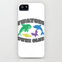 Iwatobi Swim Club iPhone Case