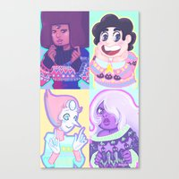 enerjax Canvas Prints featuring Sweater Gems by enerjax