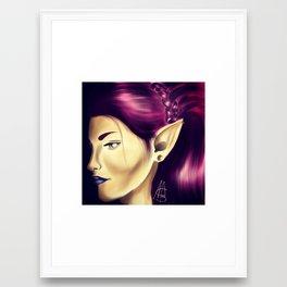 Elf Queen Framed Art Print