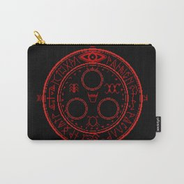 Halo of the Sun Carry-All Pouch