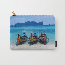 Island Hopping on Longtails Carry-All Pouch