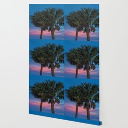 Sunset Palms Wallpaper