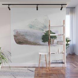 Desert tree Wall Mural