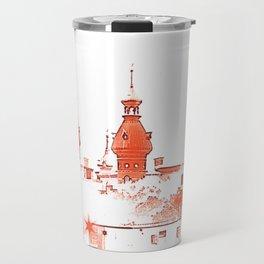 University of Tampa -- Red Travel Mug