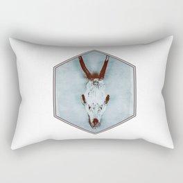 The haunted deer skull Rectangular Pillow