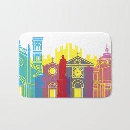 Prato skyline pop Bath Mat