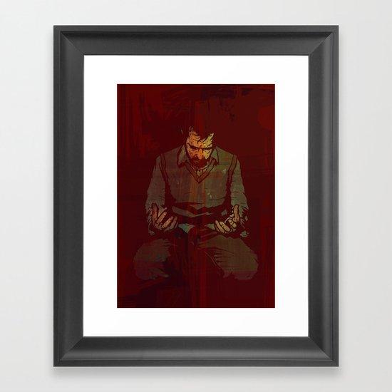 Out Of Range Framed Art Print