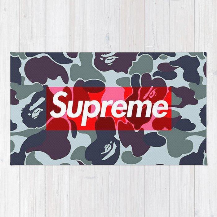 Bape Camo Supreme Wallpaper Rug by rainbowmagic | Society6