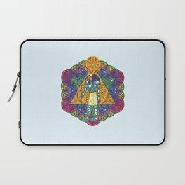 Sacred Geometry Thoth Mandala II Laptop Sleeve