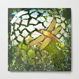 Fly High Dragonfly. Metal Print