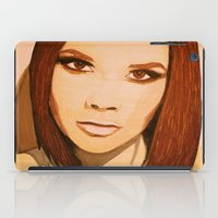 spice iPad Cases featuring Posh Spice by The Expression Studio