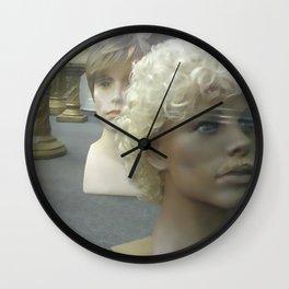 Wigs I Wall Clock