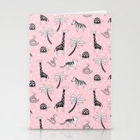 safari Stationery Cards featuring Safari by Sian Keegan