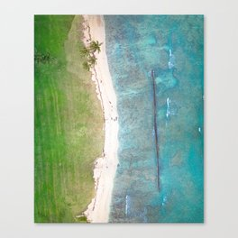 Hawaiian Shores Canvas Print