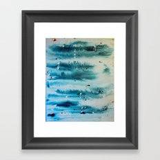 Dead Snow Framed Art Print