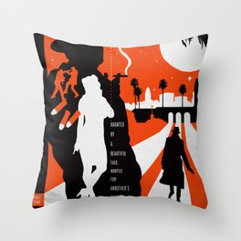 Hardboiled :: Farewell My Lovely :: Raymond Chandler Throw Pillow