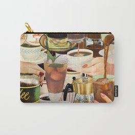 Wake Up and Smell the Coffee Carry-All Pouch