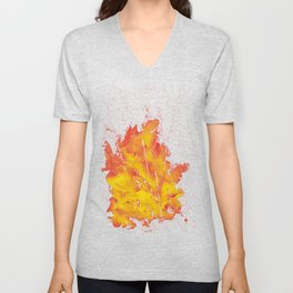 Explosion of colors_5 Unisex V-Neck