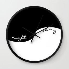 Night & Day Wall Clock