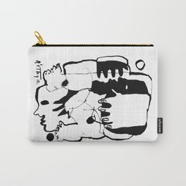 Everlasting Fight - b&w Carry-All Pouch