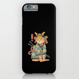 Neko Samurai iPhone Case