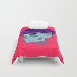 see through girl 2 Comforters