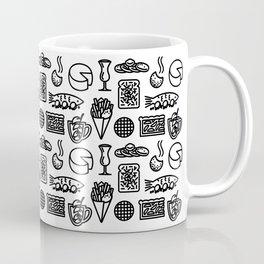 Eten & Drinken - Basic Black Coffee Mug