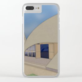Building Of The Future From A Forgotten Past Clear iPhone Case